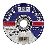 10 Stück SBS Trennscheiben 125 x 1,0mm INOX...