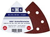SBS Klett-Schleifdreiecke 93x93x93 Delta 50 Stück...