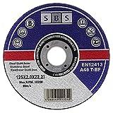 25 Stück SBS Trennscheiben 125 x 2,0mm INOX...