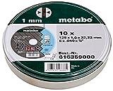 Metabo Promotion Trennscheiben 125x1,0x22,23 Inox,...