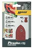 Piranha Mouse Schleifpapier Sortiment (Körnung je...